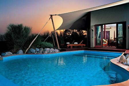 bedouin suite private pool at al maya desert resort dubai