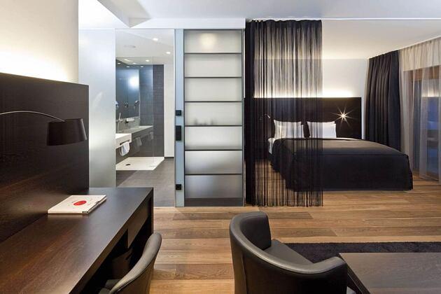 beluga deluxe suite at hotel rosengarten austria
