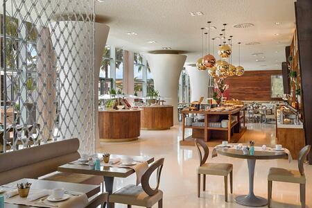 dining at aguas de ibiza hotel