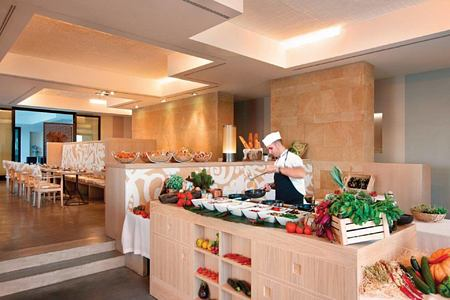 breakfast buffet at Verdura Resort Italy