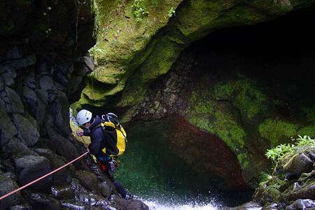 canyoning at Gaolosol Resort Madiera