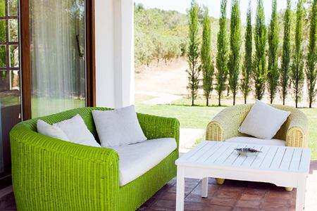 junior suite terrace at can gasi hotel ibiza