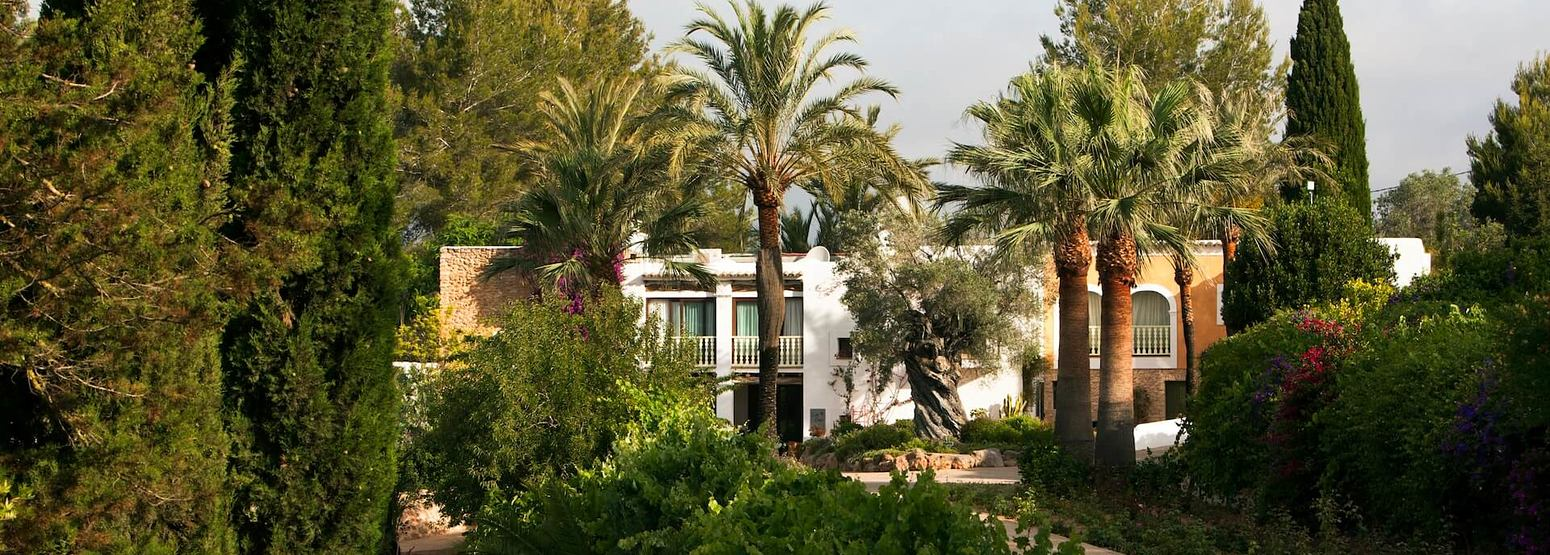 entrance alley at can gasi hotel ibiza