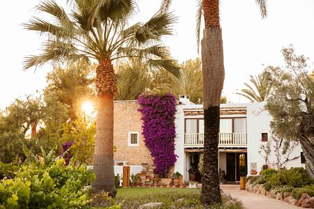 exterior of can gasi hotel ibiza