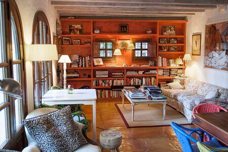 library at can gasi hotel ibiza