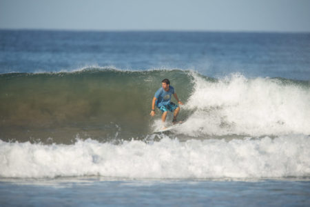 catching a wave at flor blanca resort costa rica
