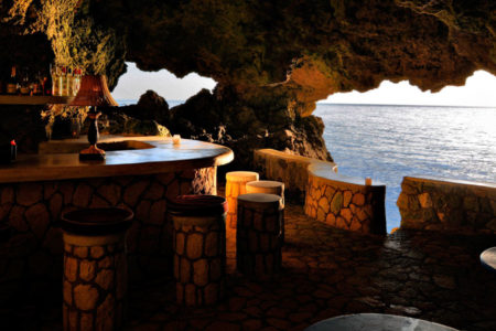 caves ocean view bar at the caves hotel jamaica
