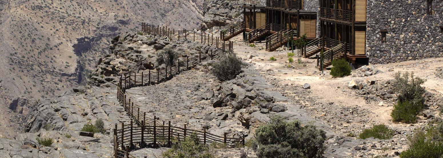 cliff at alila jabel akhdar resort oman