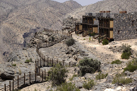 cliff at alila jabel akhdar resort oman