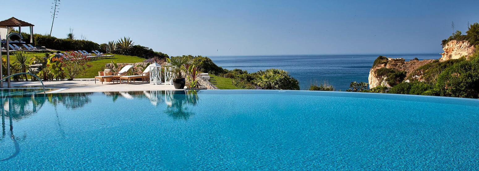 pool at vila vita parc hotel portugal