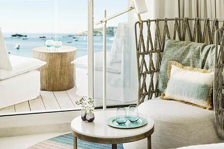 cool sea view room at nobu hotel ibiza bay