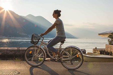 cycle around the bay or along to kotor at palazzo radomiri hotel montenegro