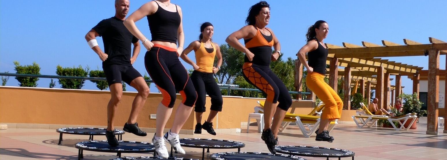 daily programme of outdoor and indoor classes at Gaolosol Resort Madiera
