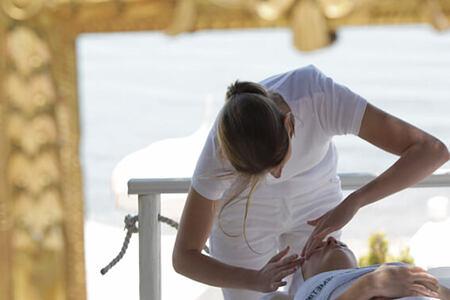 spa treatment at Danai Beach Resort