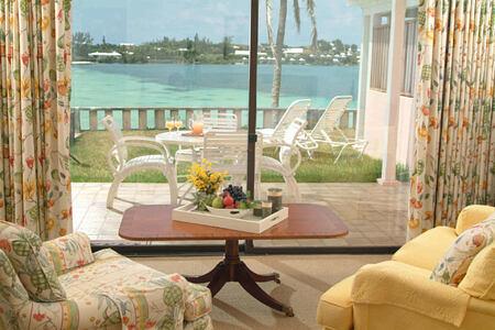 deluxe ocean view bedroom terrace at cambridge beaches resort and spa bermuda