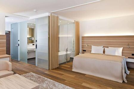 deluxe suite at hotel rosengarten austria