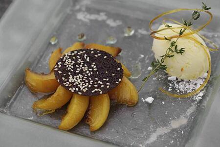 dessert at alila jabel akhdar resort oman