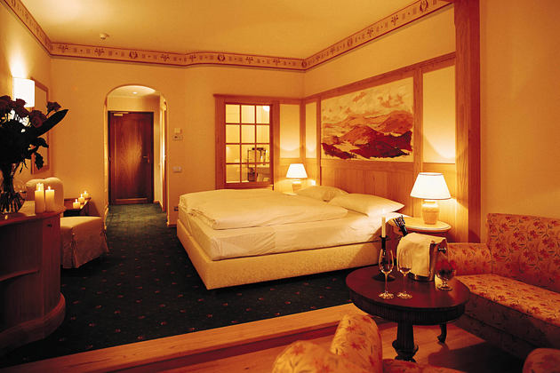 double room at Adler Thermae hotel italy