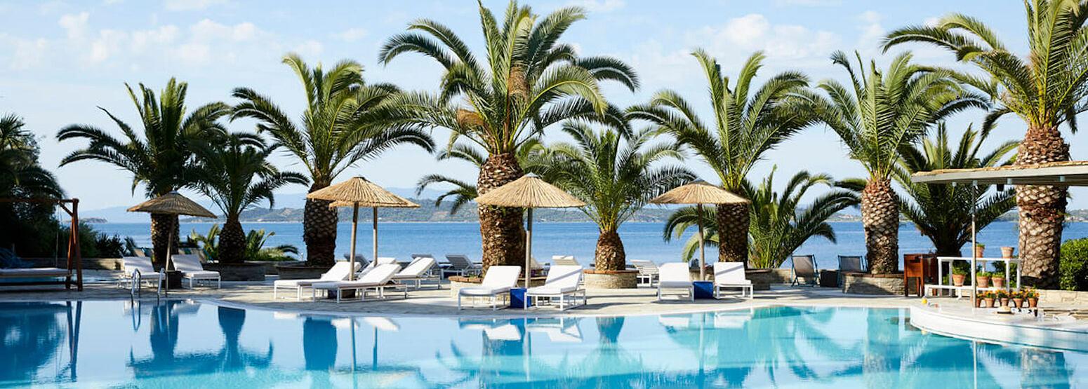 pool at Eagles Palace hotel