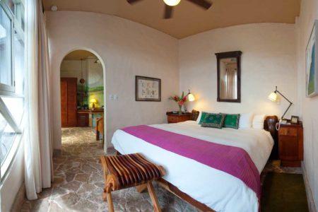 bedroom at finca rosa blanca resort costa rica