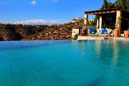elite villa pool view at aphrodite hills hotel cyrpus