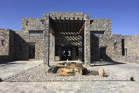 exterior at alila jabel akhdar resort oman