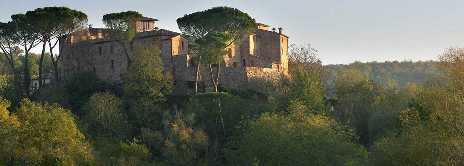 exterior at Castel Monastero hotel