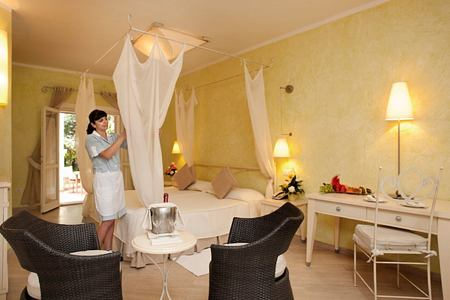 family room at Pineta Hotel Italy