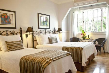 family suite at hotel grano de oro costa rica