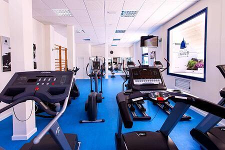 fitness room at Bahiazul Villas and Club