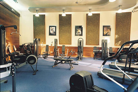 fitness room at columbia hotel cyprus