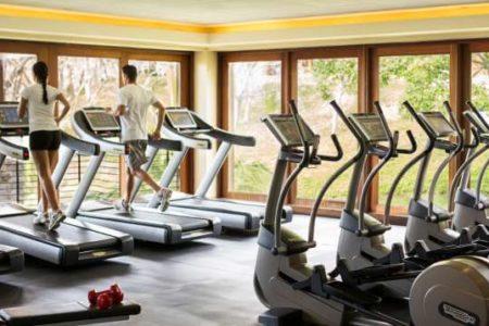 fitness room at four seasons paypagayo resort costa ricca