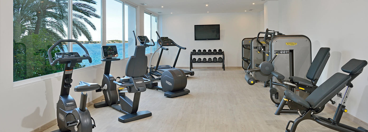 fitness studio at sol beach house