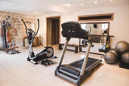 fitness studio at palazzo radomiri hotel montenegro