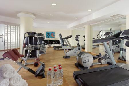 fitness studio at Mykonos Grand
