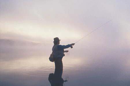 fly fishing at echo valley ranch canada
