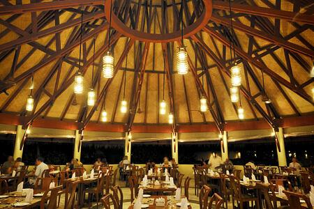 gallery restuarant at Bandos Island Resort Maldives