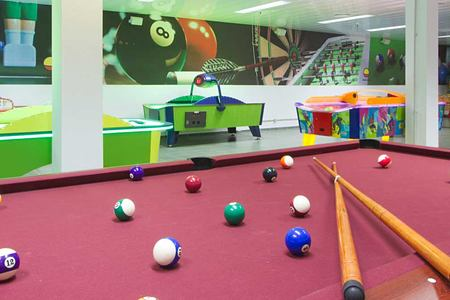 games room at playitas resort canary islands