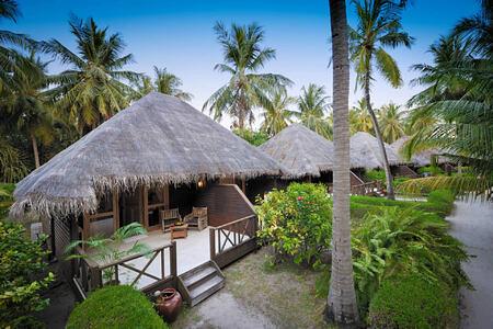 garden villa exterior at Bandos Island Resort Maldives