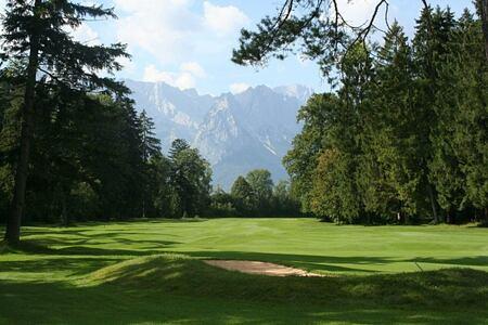 golf at Schloss Elmau