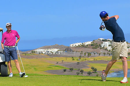 golf at playitas resort canary islands