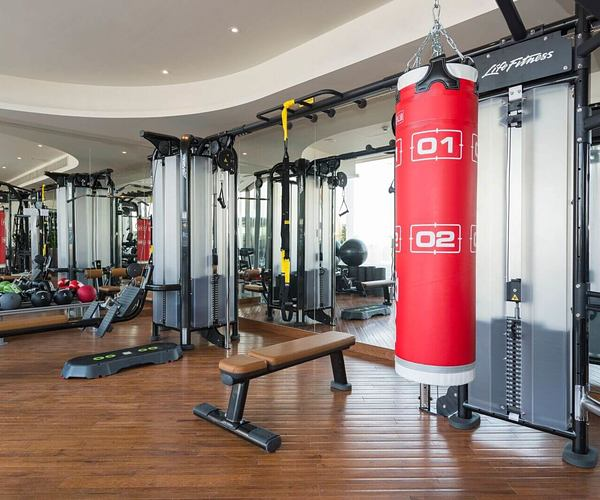 gym at The Retreat Palm