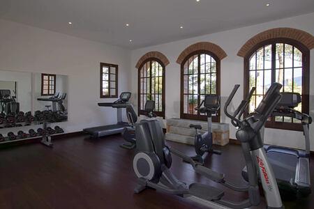 gym at amanruya at amanruya hotel turkey