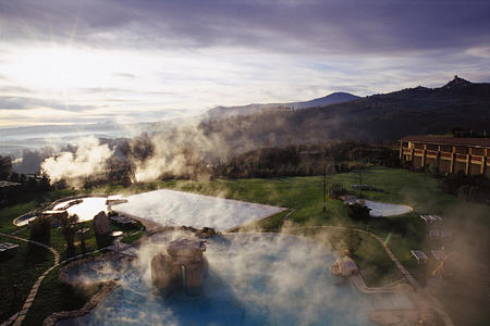 view at Adler Thermae hotel italy