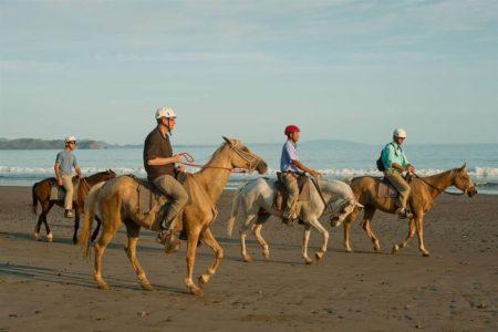 horse riding at punta islita hotel costa rica