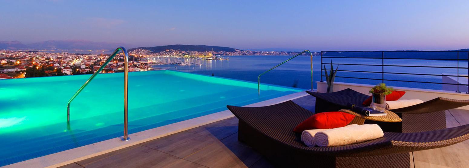 rooftop at hotel ola croatia