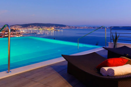 rooftop at hotel ola croatia