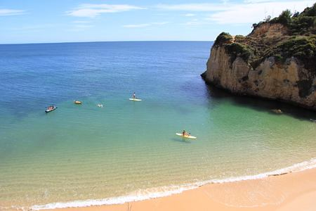 beach at vila vita parc hotel portugal