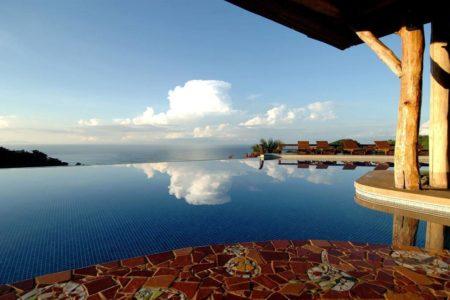 infinity pool at punta islita hotel costa rica