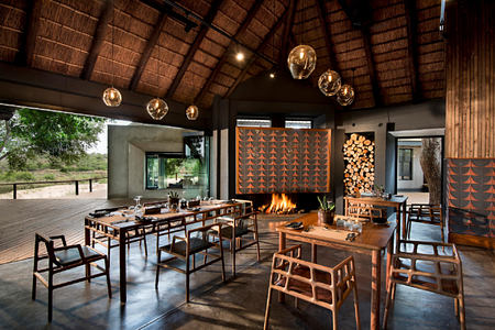 ivory lodge at lions sands south africa